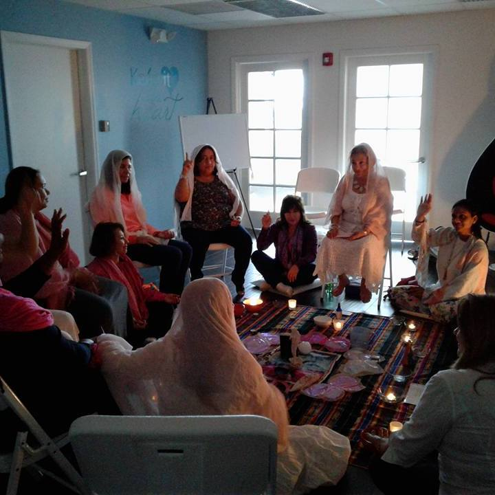 Womb Blessing Group Meditation, Miami Lakes 2017
